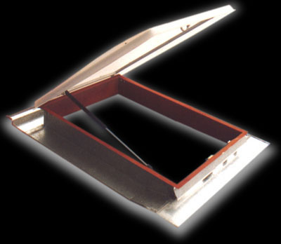 Claraboya para techo de teja francesa claraboyas luz for Como encielar un techo